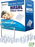 Anti Snoring Devices - Nasal Dilator (8) Stop snoring Aids | Sleep Apnea Relief and Aids Nasal Congestion | Nose Vents Devices and Snore Stoppers | Nasal Dilators an Anti Snoring solution for Sleep Apnea Relief Like Strips