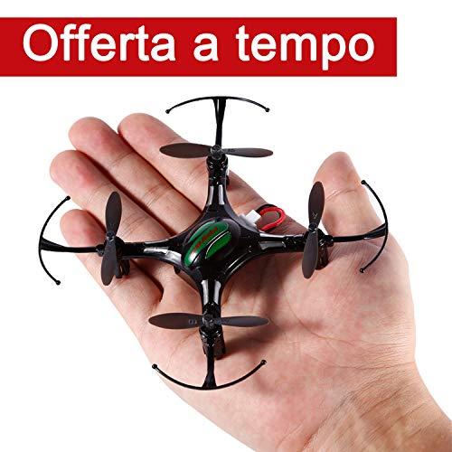 FPVRC K8 Mini RC Quadcopter Drone 2.4G 4CH 4 Aixs Modalità Senza Testa Telecomandati Quadricottero 360 Acrobazia