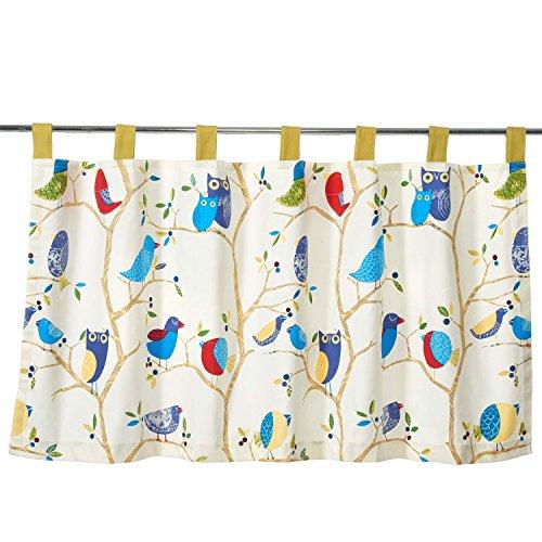 Unimall 4431315 Scheibengardine Küchengardine Kurzstore idyllisch Stil B x H: 140 x 70 cm