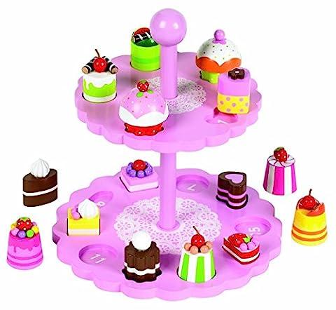 Tidlo High Tea Shape Matching Cupcake Set