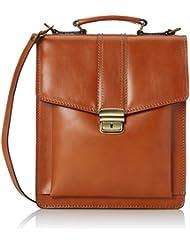 Kleine Mann-Tasche von CTM Job, Aktentaschen, 27x32x10cm, 100% echtes Leder Made in Italy