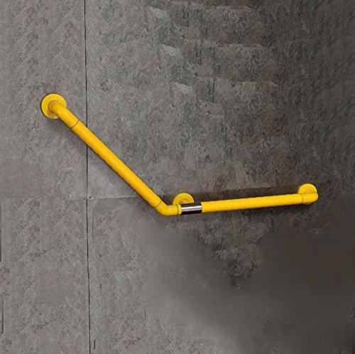 SDKKY A forma di L, bracciolo in nylon corrimano di slittamento, corrimano per disabili senza (Slittamento Forme)