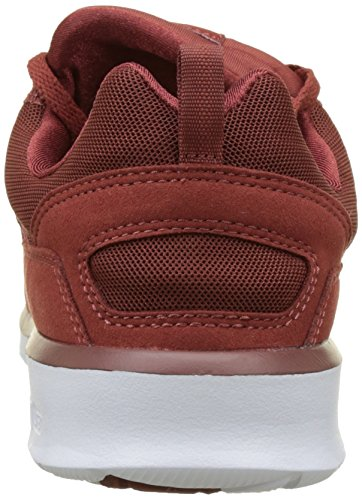 DC Shoes Heathrow, Baskets Basses Homme Rouge (Burnt Henna/White)