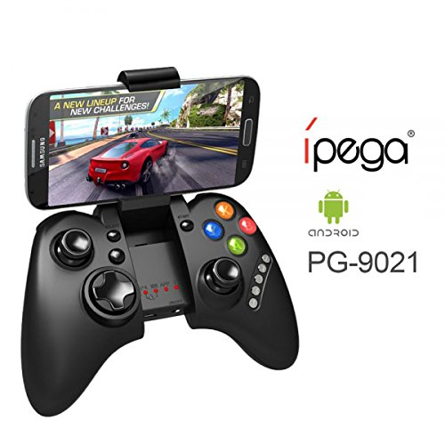 ORIGINAL PG-9021 IPEGA Controller di gioco Bluetooth Controller GamePad wireless Bluetooth controller android/PC games Samsung HTC Xiaomi Huawei Smartphone Tablet {2018 Version} (PG-9021)
