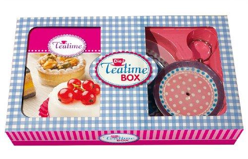 Preisvergleich Produktbild Die Teatime-Box: Hochgenuss auf die feine englische Art - Handbuch mit Etagere