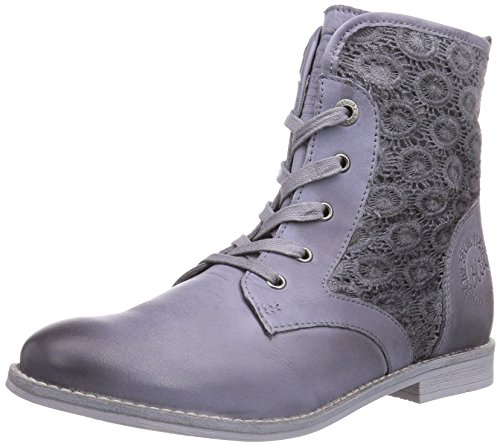 s.Oliver 25201 Damen Desert Boots Grau (Quartz 202)