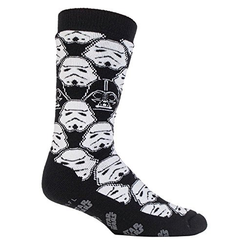 Heat Holders, Thermo-Socken für Herren, Disney-Star-Wars-Design Gr. 39-45, Storm Trooper (Thermo-socken-wärme-halter)
