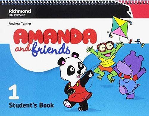 Amanda & friends 1 student's pack
