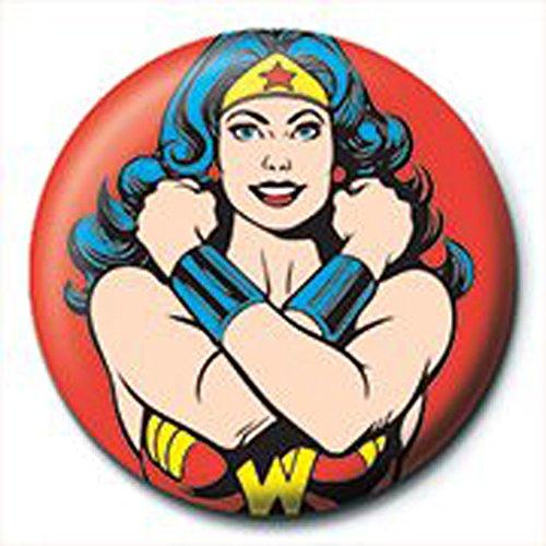 Wonder WomanPose Button Badge Diameter 2.5cm