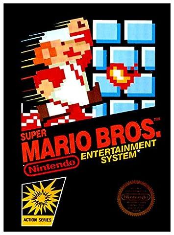 Nes Super Mario Bros - Super Mario