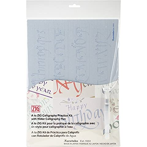 Zig Kit de práctica de caligrafía, acrílico, multicolor