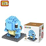 #7: Pokemon Series Diamond Building Blocks Puzzle Action Figure 3D Bricks Learning Education Toys (Squirtle)