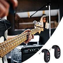 HoneybeeLY Sistema inalámbrico para Guitarra, inalámbrico, transceptor, batería de 600 ma, Negro, 8 x 4 x 3 cm