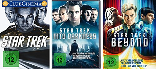 Star Trek - Kinofilme 11+12+13 im Set - Deutsche Originalware [3 DVDs]