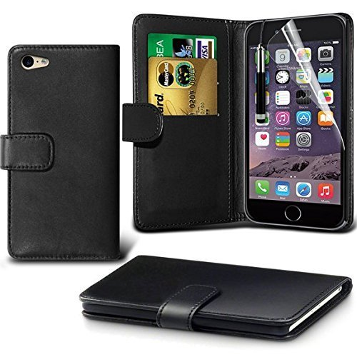 Price comparison product image iPhone 6/6s Case,DN-Alive Wallet - Book Case,Flexible PU Premium Leather [Card holder] iPhone 6/6s Cover - ID Holder [Drop resistance] [Scratch Resistant] [Shockproof] Case For iPhone 6/6s