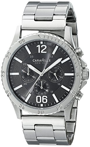 Caravelle New York Men's 43A115 Stainless Steel Watch
