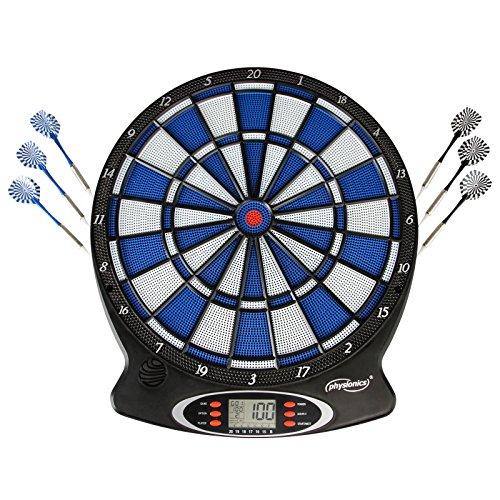 Elektronische Dartscheibe elektronisches Dartboard Darts Dartsport in drei verschiedenen Farben inkl. 6 Dartpfeilen - 3