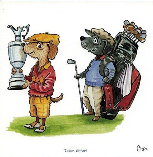 team-effort-biglietto-di-auguri-con-busta-da-golf-con-motivo-cani-bryn-parry-in-golfing-attire