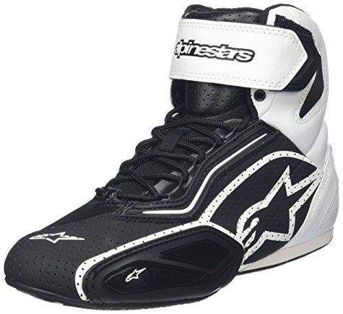 Preisvergleich Produktbild Schuhe Alpinestars Faster 2 Vented, SCHWARZ-WEISS, 10,5=43,5
