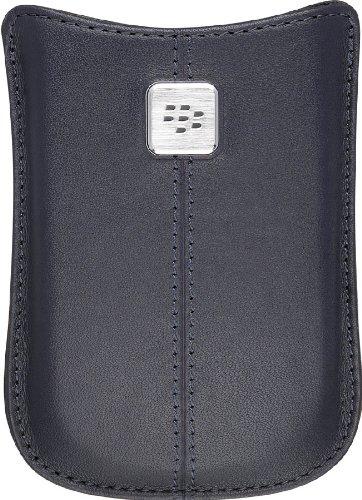 BlackBerry Leather Pocket Handytasche blau - Handyhüllen (BlackBerry Curve 8520/8530 / 8900, blau)