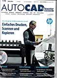 Autocad & Inventor Magazin 1 2016 Neue Designjet Großformatdrucker von HP Zeitschrift Magazin...