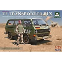 T3 Transporter Bus with figure 1/35 Scale Kit