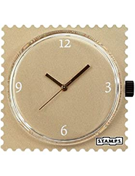 Stamps Uhr - Zifferblatt Soy Latte - S.T.A.M.P.S. Uhr 104305