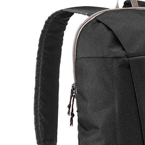 Best decathlon backpack in India 2020 QUECHUA Backpack Waterproof(Black, 10 LTR) Image 5