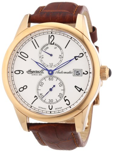 Ingersoll Women's Automatic Watch IN8008RWH with Leather Strap