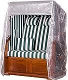 Strandkorb Trendy by deVries Pure Classic XL SUN PE Seashell – Dessin 415 inkl. Strandkorb Schutzhülle *NEUHEIT* INNEN UND AUSSEN DURCHGEFLOCHTEN - 7