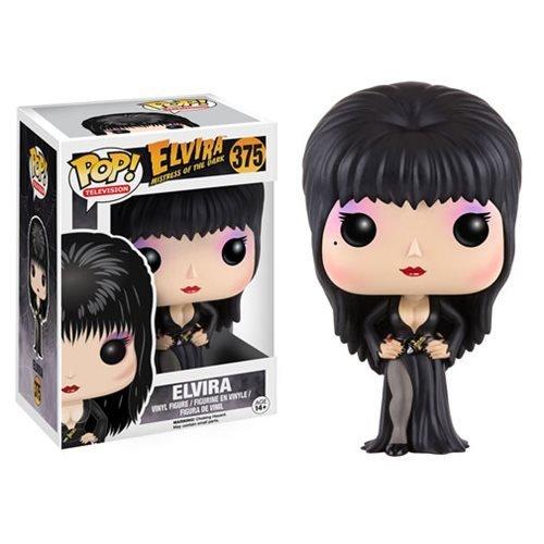Elvira Pop Vinyl Figure by El Vira