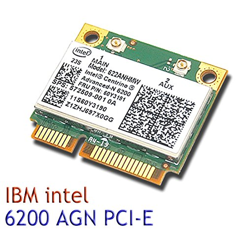 Intel 6200 622ANHMW AGN 802.11n Wireless N Half Mini Card für IBM T510 X201 T410 Intel Wireless-n Adapter