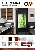 Infrarotheizung Infrarot 900 Watt Metall-Premium Weiss Wand & Deckenmontage Glaswärmt Heizung Tüv Geprüft