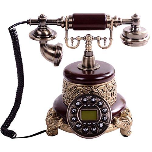 Telefoni voip retro moda vintage telefono antico pastorale continentale telefono antico decorazione della casa piedistallo personalità retro telefono