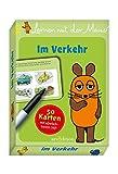 Lernen mit der Maus - Im Verkehr: 50 Karten mit abwischbarem Stift