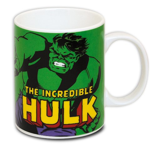The Incredible Hulk Tasse Marvel Comic / Kaffeetasse aus echtem Porzellan