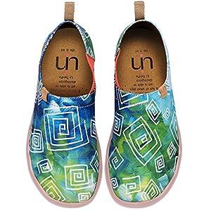 UIN Damen lieben im Frühjahr Canvas Loafer Schuh grün