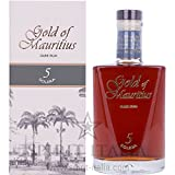 Gold of Mauritius 5 Years Old Solera Dark Rum + GB 40,00% 0.7 l.