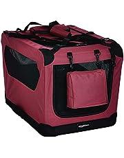 AmazonBasics Premium Folding Portable Soft Pet Crate - 26in