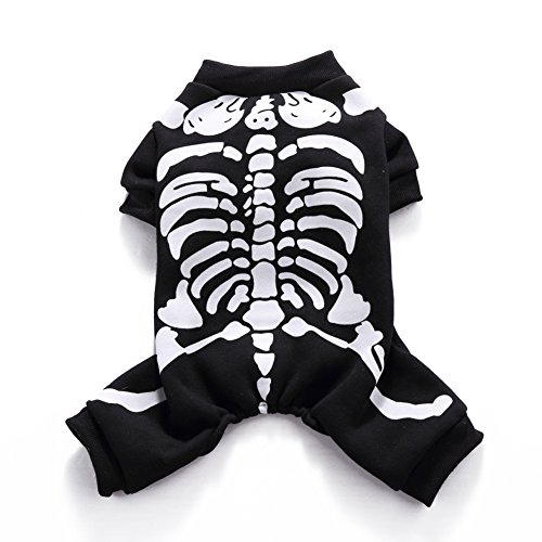 swyivy Pet Halloween Pullover Pullover Rahmengestelle Print Hund (Up Ideen Cute Halloween Für Dress)
