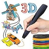 Pluma de impresión 3D,3d Pluma Inteligente,Boligrafo 3D con Pantalla LCD para Impresión 3D Regalo para Niños y Adultos