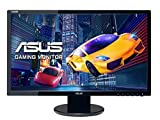 ASUS VE248HR - Monitor Gaming DE 24'' (1920x1080 Full HD, 1 ms, HDMI, DVI-D, D-Sub, 250 CD/㎡, Aspecto 16:9, Altavoces), Color Negro