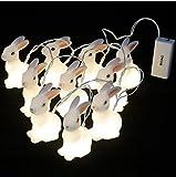 ONIVIB LED-Osterhasen-Schnur-Lichter