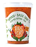 Tideford Organics Tomato Plus Basil Soup with Red Peppers Plus Miso, 600g (FODMAP)
