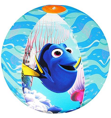 """Preisvergleich Produktbild Strandball / Ball aufblasbar - """" Disney - Findet Nemo & Dory - Fische """" - Ø 42 cm - Wasserball - aufblasbarer großer Ball / Beachball - Kinder Spielball Aufblasball Luft / Strandspielzeug - Badespielzeug - Mädchen & Jungen Schwimmartikel / Wasserspielzeug - Unterwasser Fisch"""