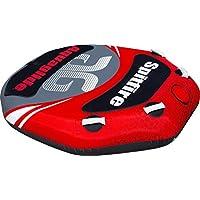 Aquaglide 16263Spitfire 60boya para deportes acuáticos de tracción con respaldo negro/rojo