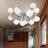 Ideal Lux NODI Suspension Boule avec 15verres Ø 100cm/Design Lampe Chromé
