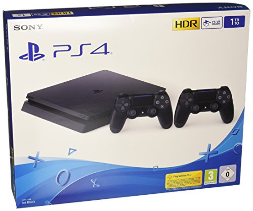 PlayStation 4 1TB + 2 Dualshock 4 Wireless
