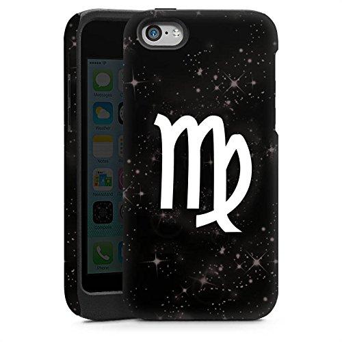 Apple iPhone 6 Housse Étui Silicone Coque Protection Vierge Signes du zodiaque Astrologie Cas Tough brillant