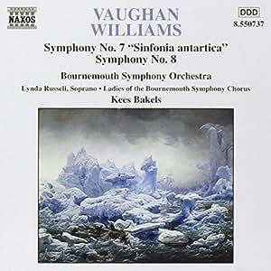 "Vaughan Williams: Symphonies Nos. 7 ""Sinfonia antartica"" & 8"
